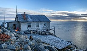 Tumannaya Meteostation on Cape Shelgasky of the northernmost point of Chukotka
