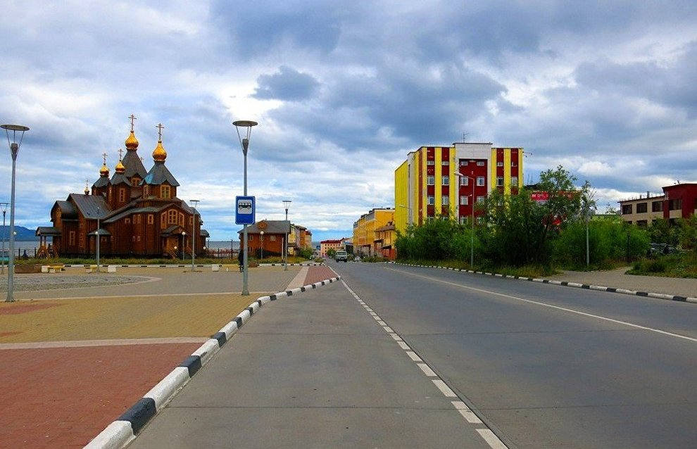The capital of Chukotka, Anadyr