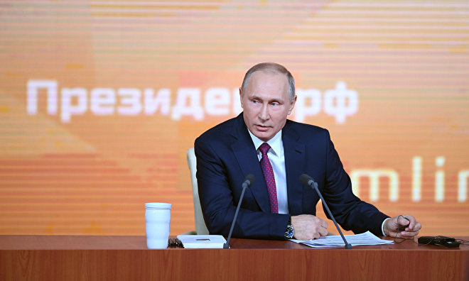 Vladimir Putin charts high priority Arctic projects