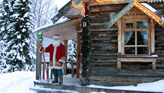 Дед Мороз из Лапландии