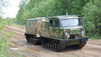 Гусеничный снегоболотоход ГАЗ-3344, производства ЗАО ЗЗГТ