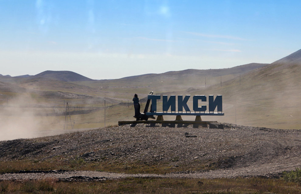The world's first wind-diesel complex to be built in Tiksi