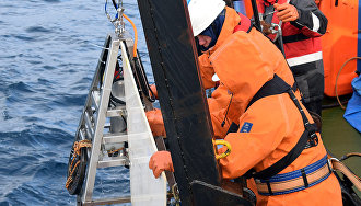 Испытания комплекса для глубоководных исследований
