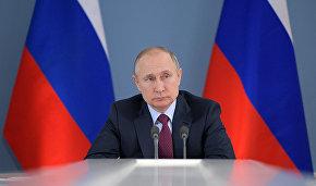 Владимир Путин поручил проработать вопрос загрузки СМП