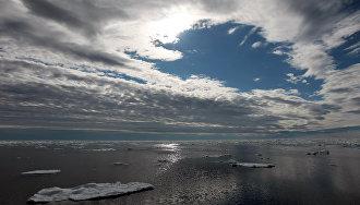 Снегопады в Сибири связали с отсутствием льда в акватории Карского моря