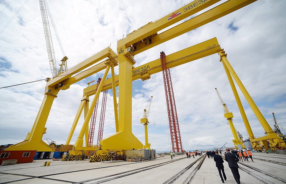 Government to subsidize two-thirds of loan rates to build Zvezda shipyard