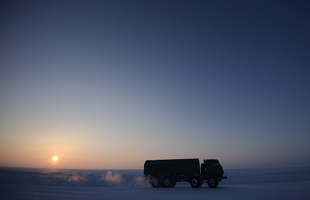 Kamaz to test Arctic off-roader in 2018