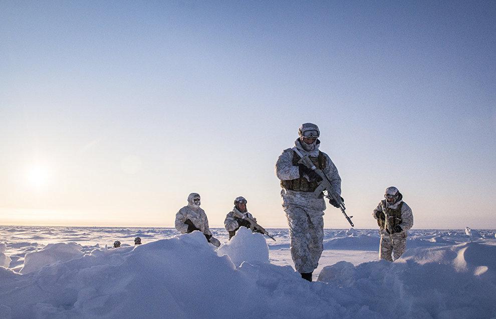 В Арктике стартовали учения Росгвардии
