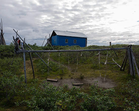 Almost 150 people who consider themselves residents of Russkoye Ustye live at the end of world, just 30 kilometers from the East Siberian Sea, surrounded by rivers, lakes, and tundra