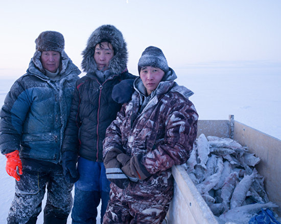 Зимняя рыбалка в Якутии на фотографиях Натальи Фёдоровой