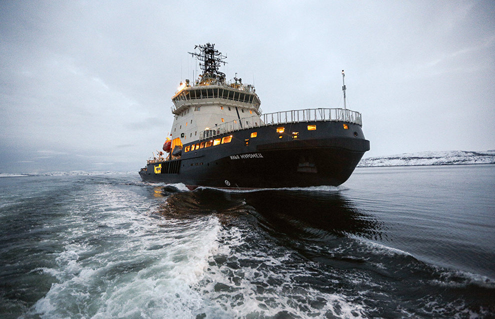 Ilya Muromets tests commence in Barents Sea