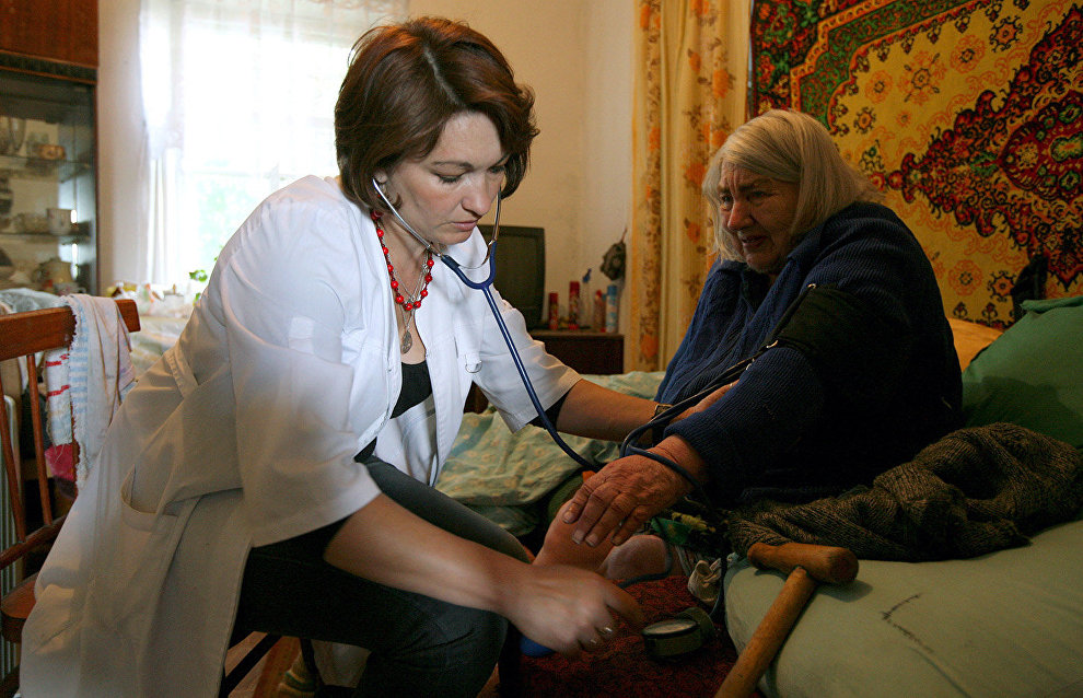 Large bonuses for doctors moving to the Arctic region to go up to 3 million rubles