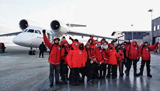 Having chills but not getting cold feet: How Moscow school students explore the North Pole