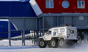 В Арктике испытали новую технику МЧС
