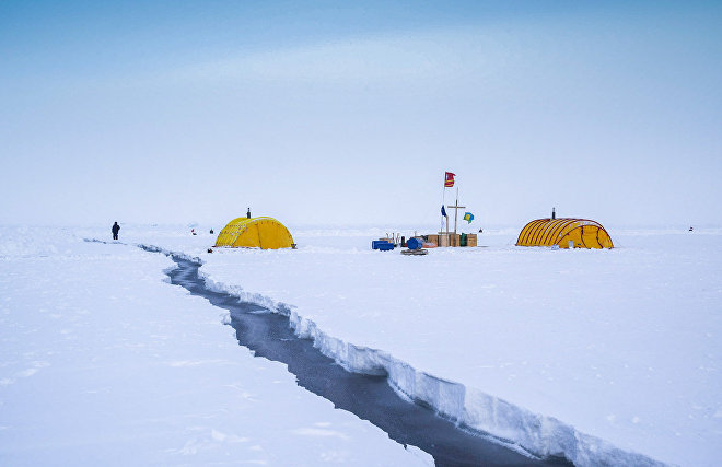 Moscow school students to continue research at North Pole next year