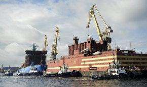 Плавучая атомная станция «Академик Ломоносов» отправлена в Мурманск для загрузки топливом
