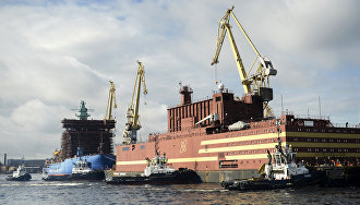 Russian floating nuclear power plant to take on fuel in Murmansk