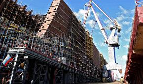 St. Petersburg shipyard lays keel for icebreaker Yakutia