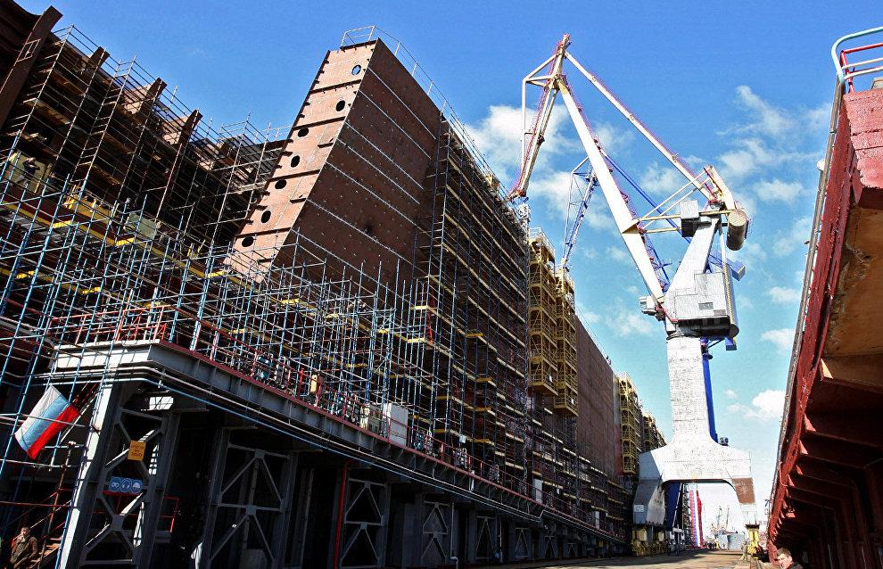 Ледостойкая платформа «Северный полюс» будет заложена в Санкт-Петербурге в 2019 году