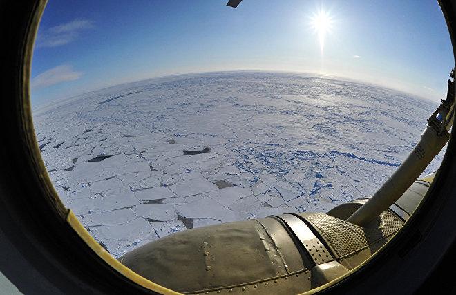 Пролетая над куполом Земли