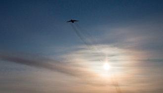 Беспилотники и военные самолёты в Арктике