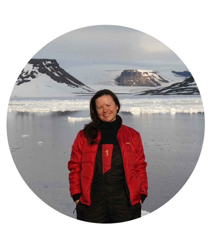 Yulia Petrova, spokesperson for Russian Arctic National Park in the Franz Josef Land Archipelago