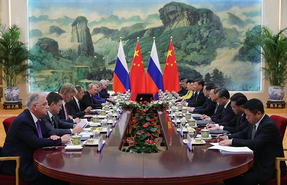 Заявление лидеров: РФ и КНР намерены укреплять сотрудничество в Арктике