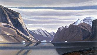Репродукция картины «Фьорд в Северной Гренландии» художника Рокуэлла Кента