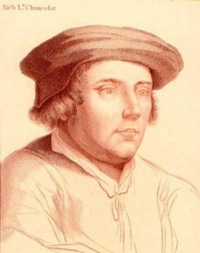 Ричард Ченслер, гравюра с картины Гольбейна