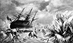 Корабль «Террор» и его команда
