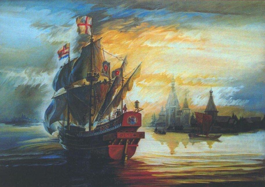 Картина художника Мартынова из музея Северодвинска