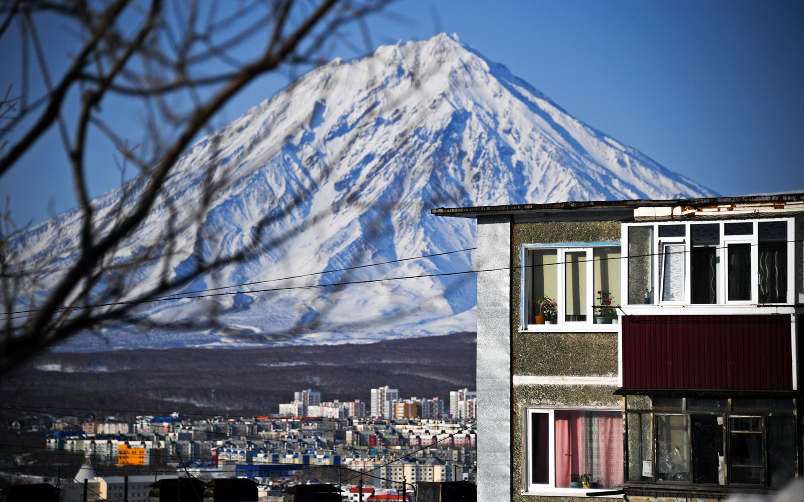 The city of Petropavlovsk-Kamchatsky