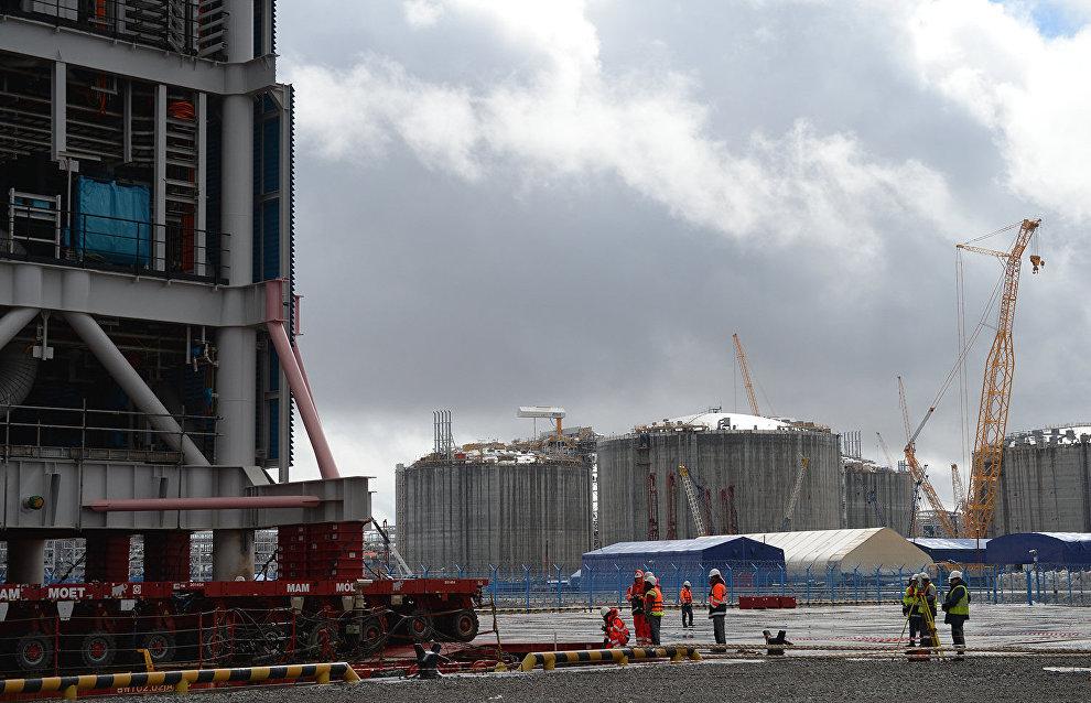 Проект нового терминала «Арктик СПГ 2» презентован на Ямале