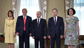 Presidents of Finland, Russia and the US discuss Arctic environmental issues