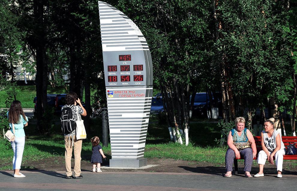 Жара в Мурманске бьёт рекорды