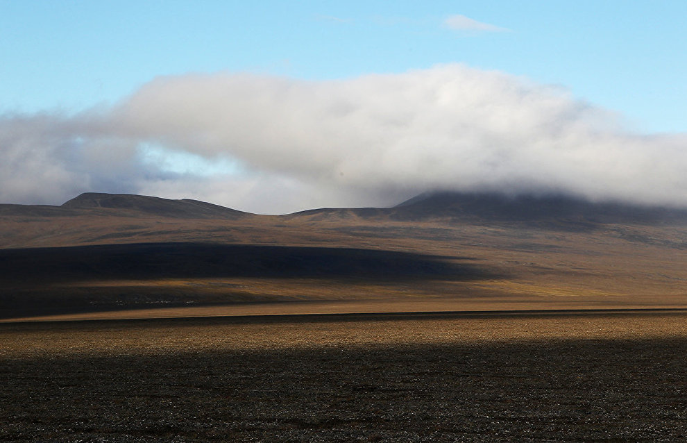 Более 90 тонн металлолома собрали военные экологи на острове Врангеля в Арктике