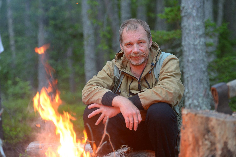 Oceanologist Sergei Klimov
