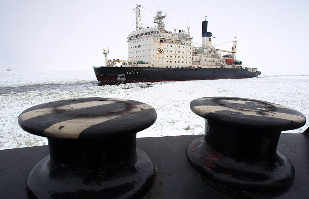 Rosatom considers extending service life of active nuclear icebreakers
