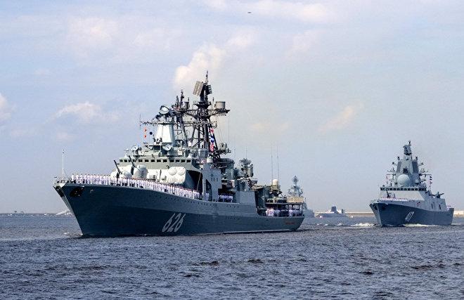 Корабли Северного флота в рамках арктического похода вошли в море Лаптевых