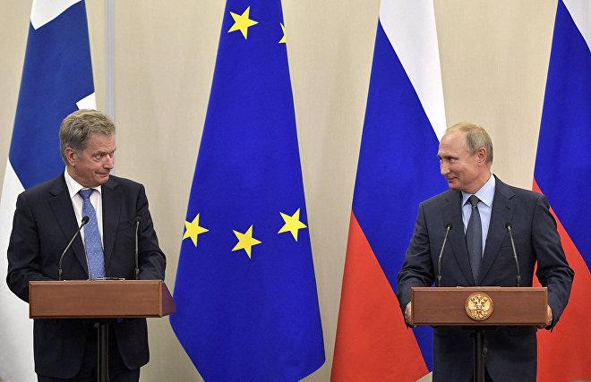Президенты России и Финляндии обсудили вопросы Арктики