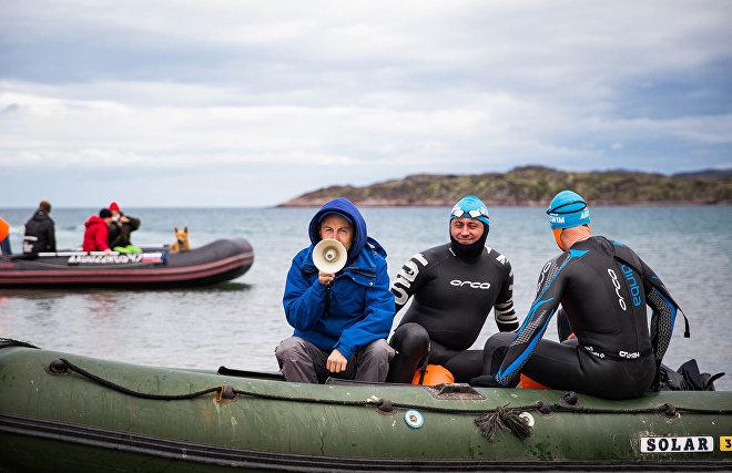 Сумасшедший заплыв: как плавают в Териберке