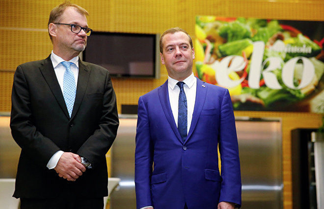 Medvedev unveils joint environmental initiatives with Finland in the Arctic