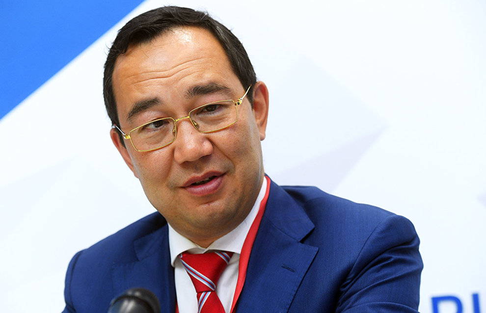 Aisen Nikolayev inaugurated as the head of the Republic of Sakha (Yakutia)