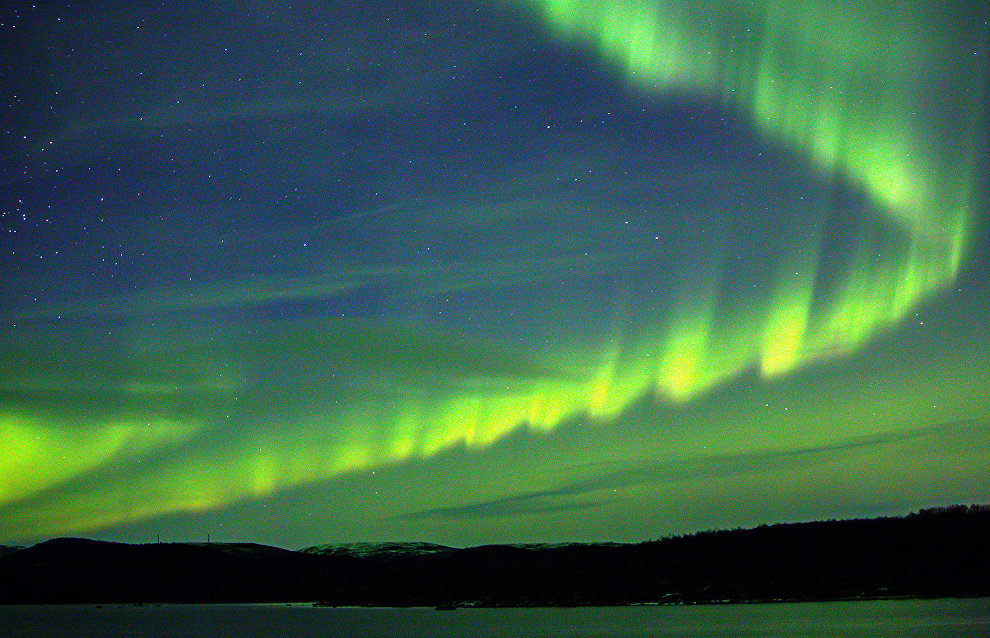 Each northern light is unique