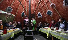Журналисты побывали в городе Дудинке и познакомились с обычаями коренных народов Севера