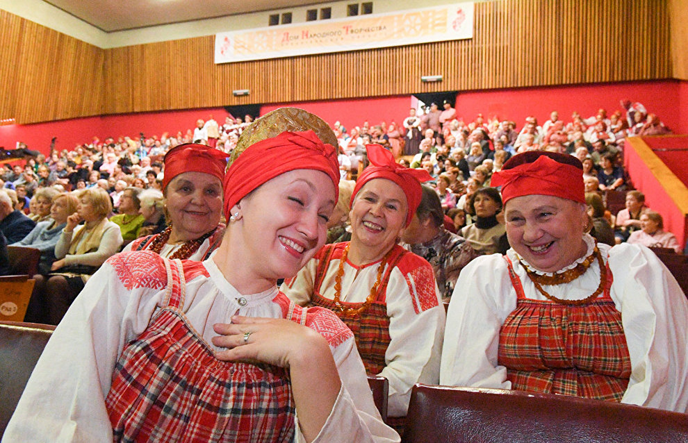 16th Kolotilova Interregional Folklore Festival Competition in Arkhangelsk