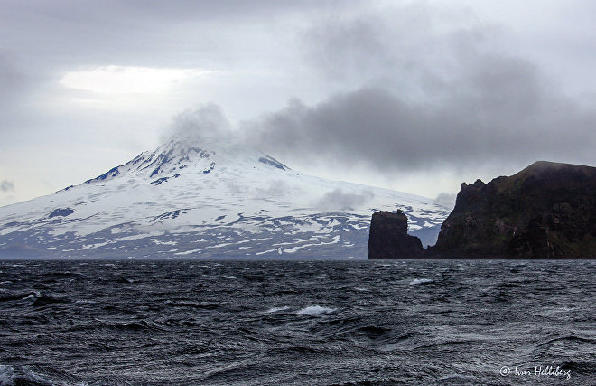 Views of Jan Mayen Island
