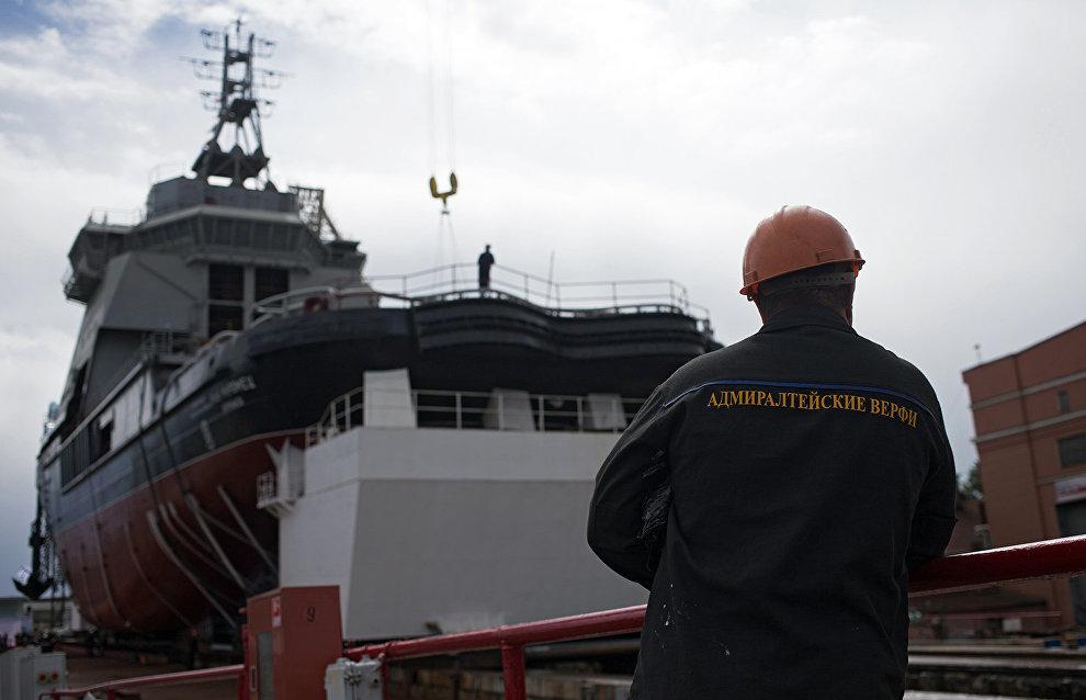Пожар на ледоколе «Виктор Черномырдин» не повлияет на сроки его сдачи