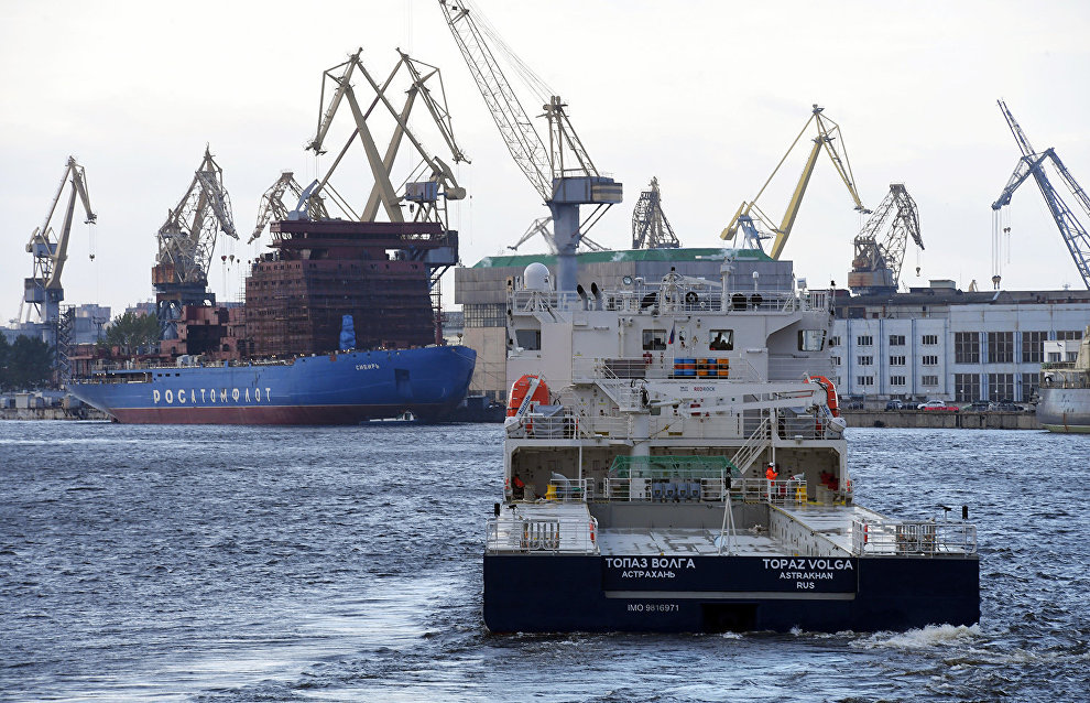 Russia to commission new icebreakers: Medvedev