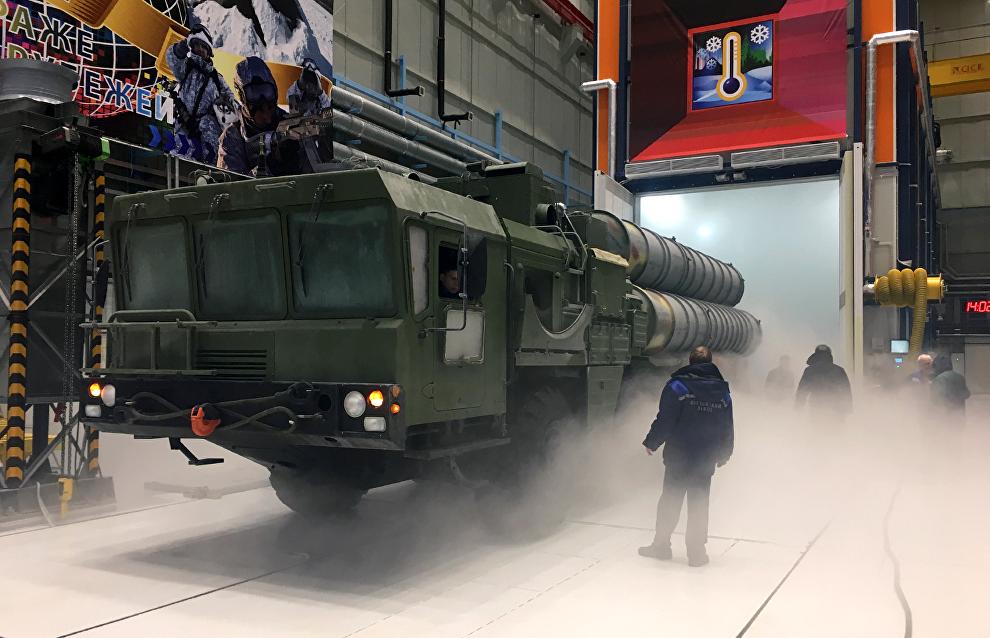 Artur Chilingarov tours Arctic test facility in St. Petersburg